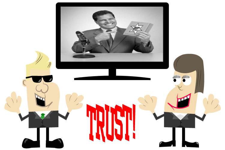 People TRUST Cartoons!